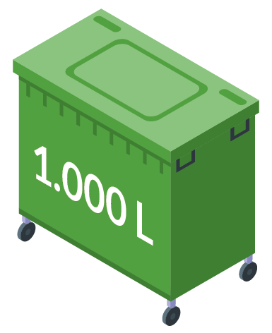 Minicontainer 1000L