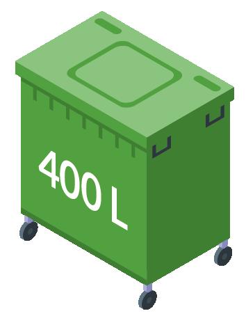 Minicontainer 400L