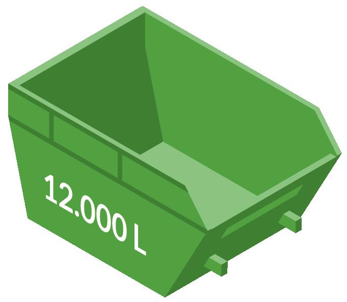 Vipcontainer 12000L