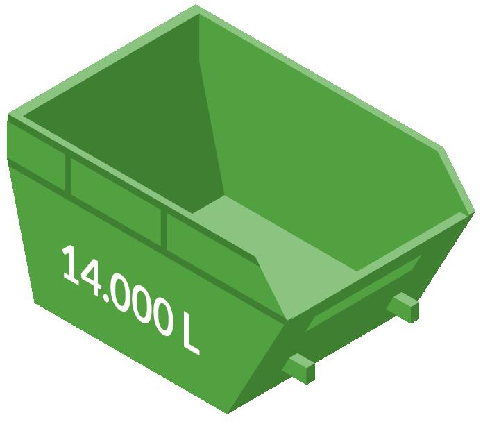 Vipcontainer 14000L