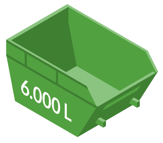 Vipcontainer 6000L