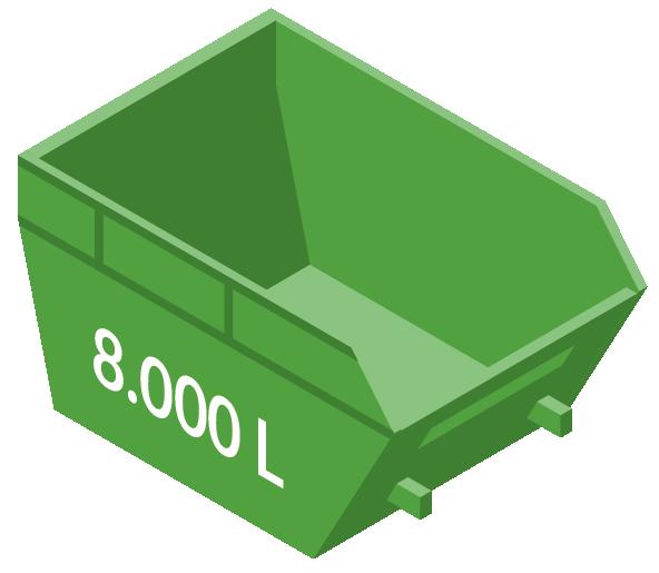 Vipcontainer 8000L
